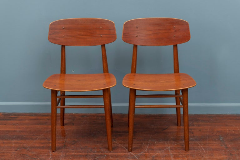 Danish Modern Dining Chairs For Sale 2
