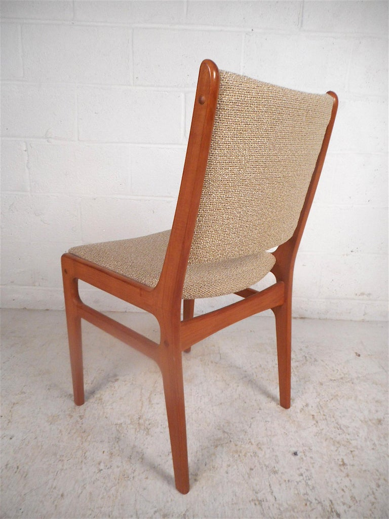 20th Century Danish Modern Dining Chairs, Set of 6 For Sale