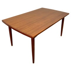 Danish Modern Draw Leaf Table by Gudme Møbelfabrik