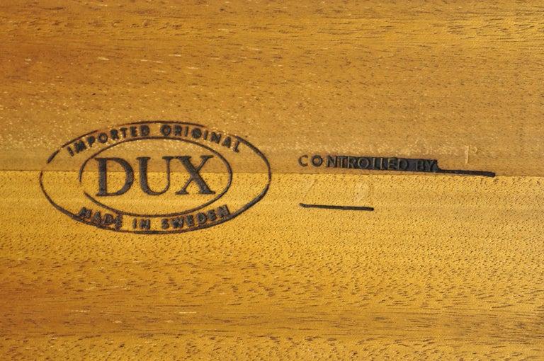 Danish Modern Dux Folke Ohlsson Teak Rectangular Teak Coffee Table For Sale 4
