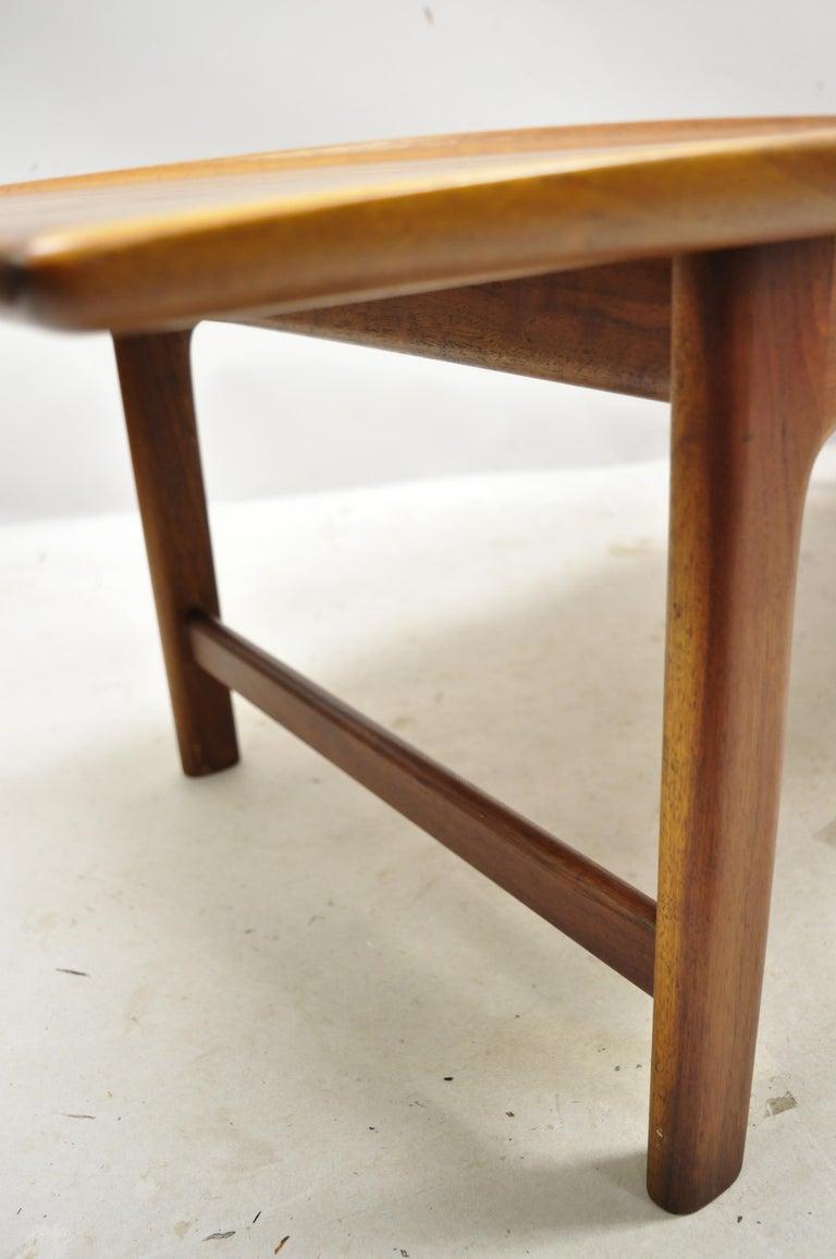 Danish Modern Dux Folke Ohlsson Teak Rectangular Teak Coffee Table For Sale 5