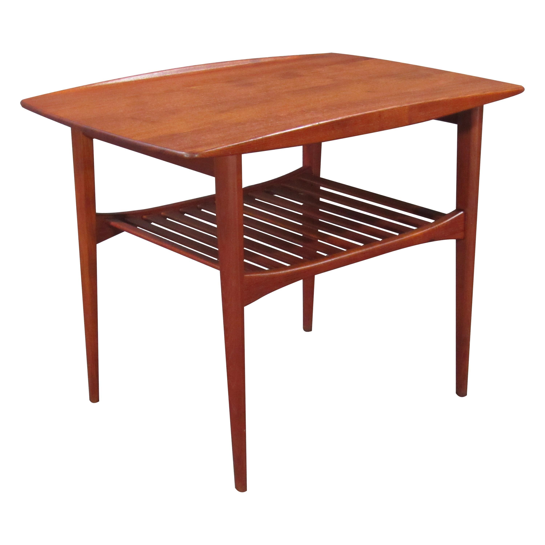 Danish Modern Early Finn Juhl Teak Table for France and Daverkosen, 1950s