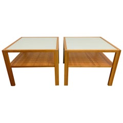 Danish Modern End Tables by Gangsø Møbler