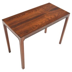 Danish Modern Entry Console Table in Rosewood