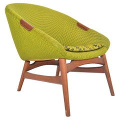 Danish Modern Erling Torvits Model 22 Lounge Chair, Mid-Century Modern