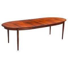 Danish Modern Extendable Dining Table by Møller