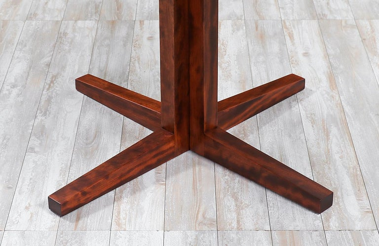 "Danish Modern ""Flip-Flap"" Rosewood Dining Table by Dyrlund For Sale 5"