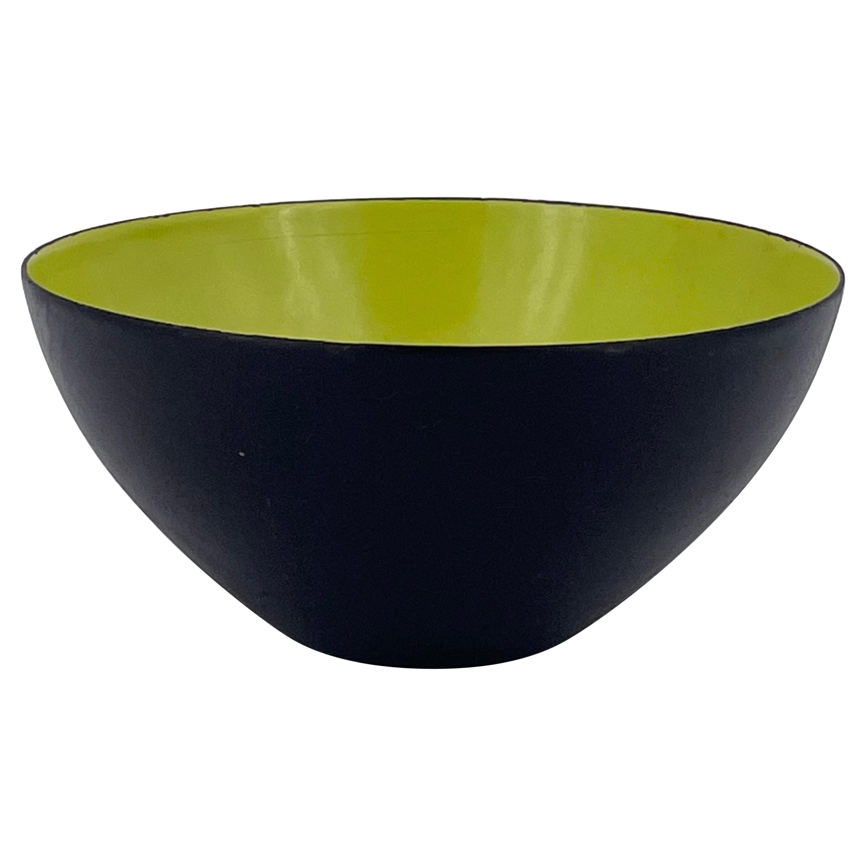 Danish Modern Green Krenit Bowl by Herbert Krenchel for Torben Orskov