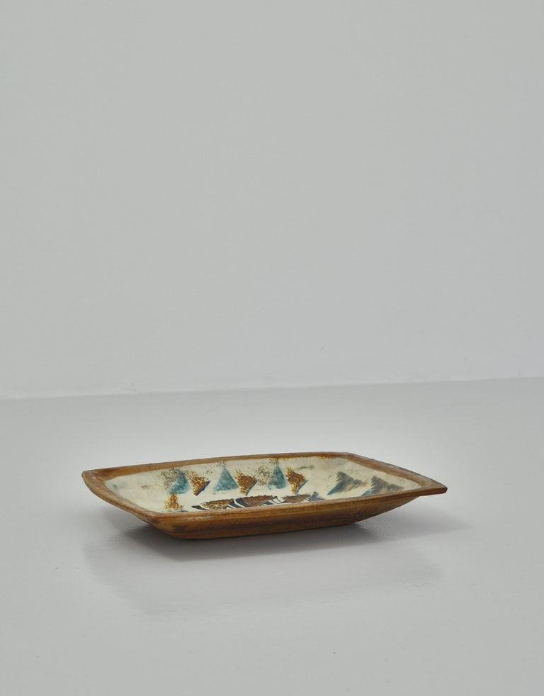 Danish Modern Group of Glazed Ceramics Bowls by Jeppe Hagedorn-Olsen, 1960s For Sale 3