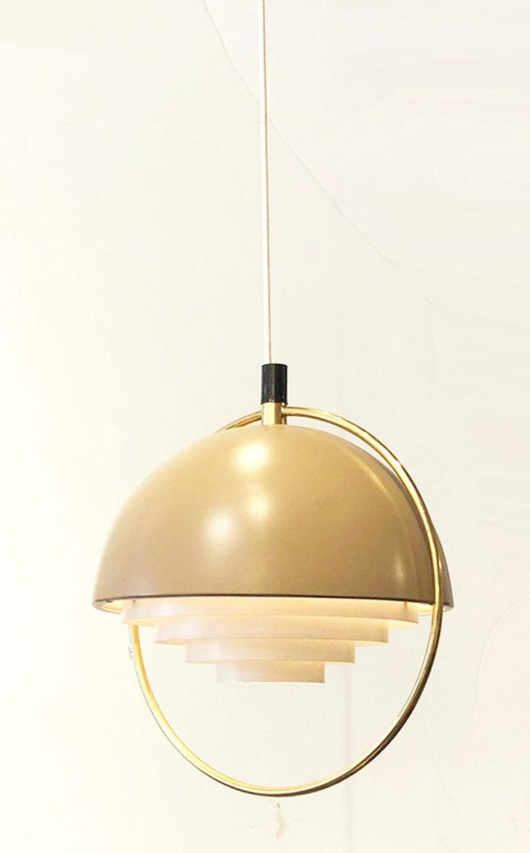 Danish Modern Hanging Light In Excellent Condition For Sale In Los Angeles, CA