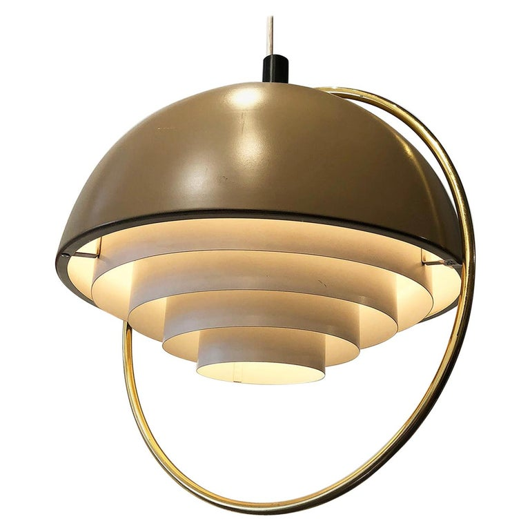 Danish Modern Hanging Light For Sale