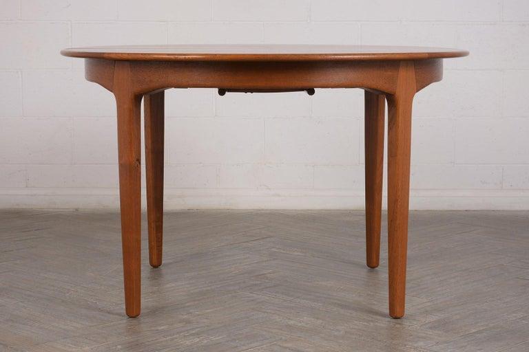 Modern Danish Dining Table by Henning Kjaernulf for Soro Stolefabrik  For Sale 3