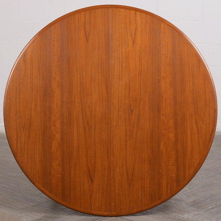 Modern Danish Dining Table by Henning Kjaernulf for Soro Stolefabrik  For Sale 4