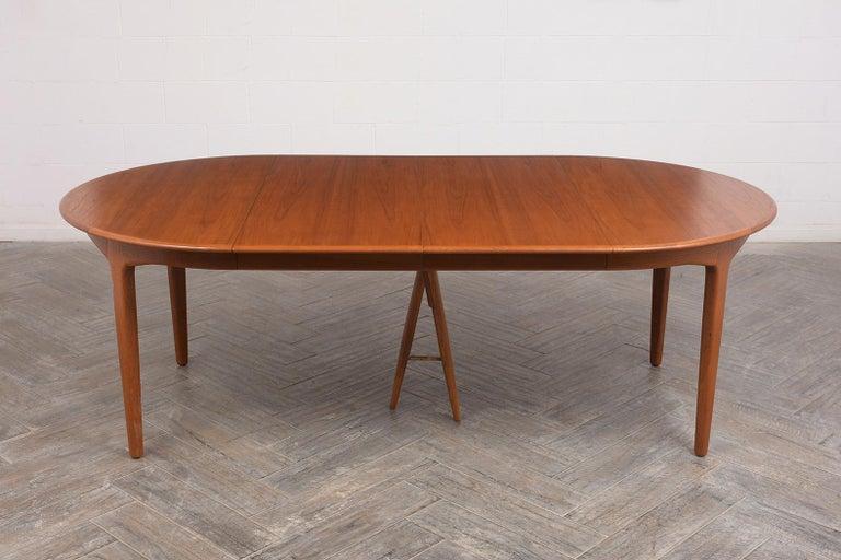 Mid-Century Modern Modern Danish Dining Table by Henning Kjaernulf for Soro Stolefabrik  For Sale