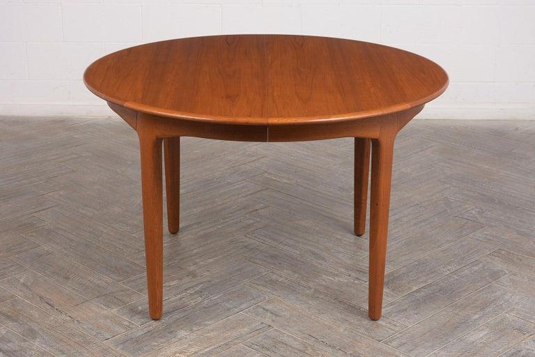 Mid-20th Century Modern Danish Dining Table by Henning Kjaernulf for Soro Stolefabrik  For Sale