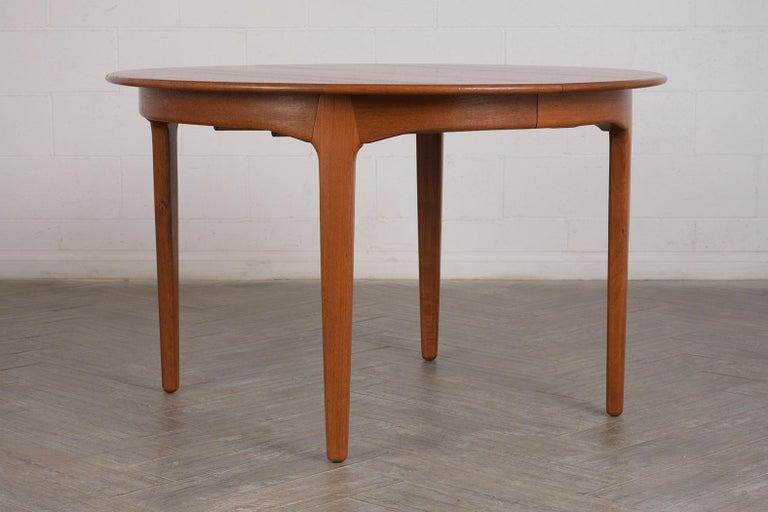 Modern Danish Dining Table by Henning Kjaernulf for Soro Stolefabrik  For Sale 1