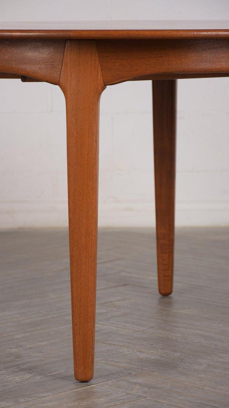 Modern Danish Dining Table by Henning Kjaernulf for Soro Stolefabrik  For Sale 2