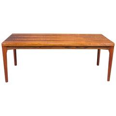Danish Modern Henning Kjaernulf Rosewood Coffee Table for Vejle Møbelfabrik