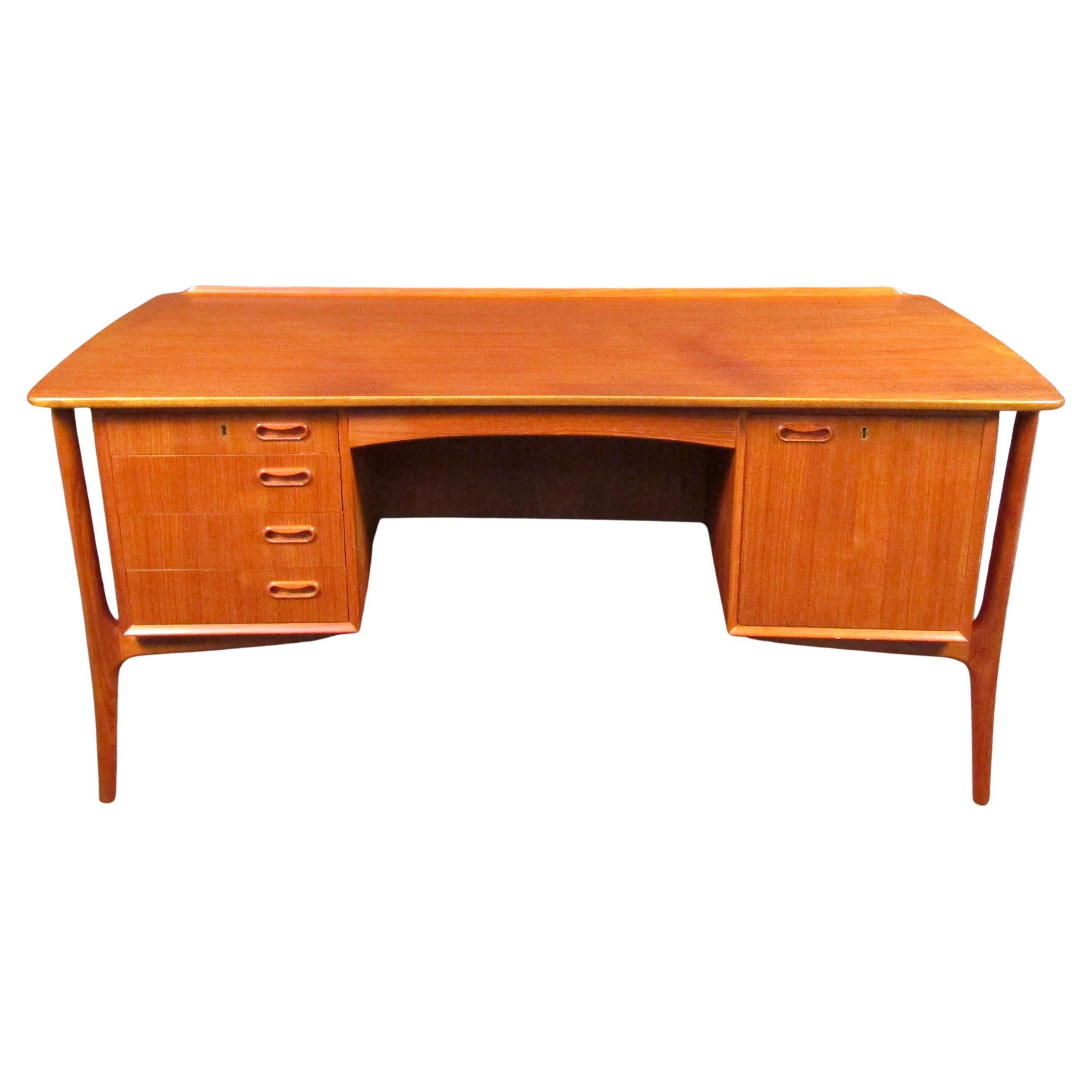 Danish Modern H.P Hansen Executive Desk