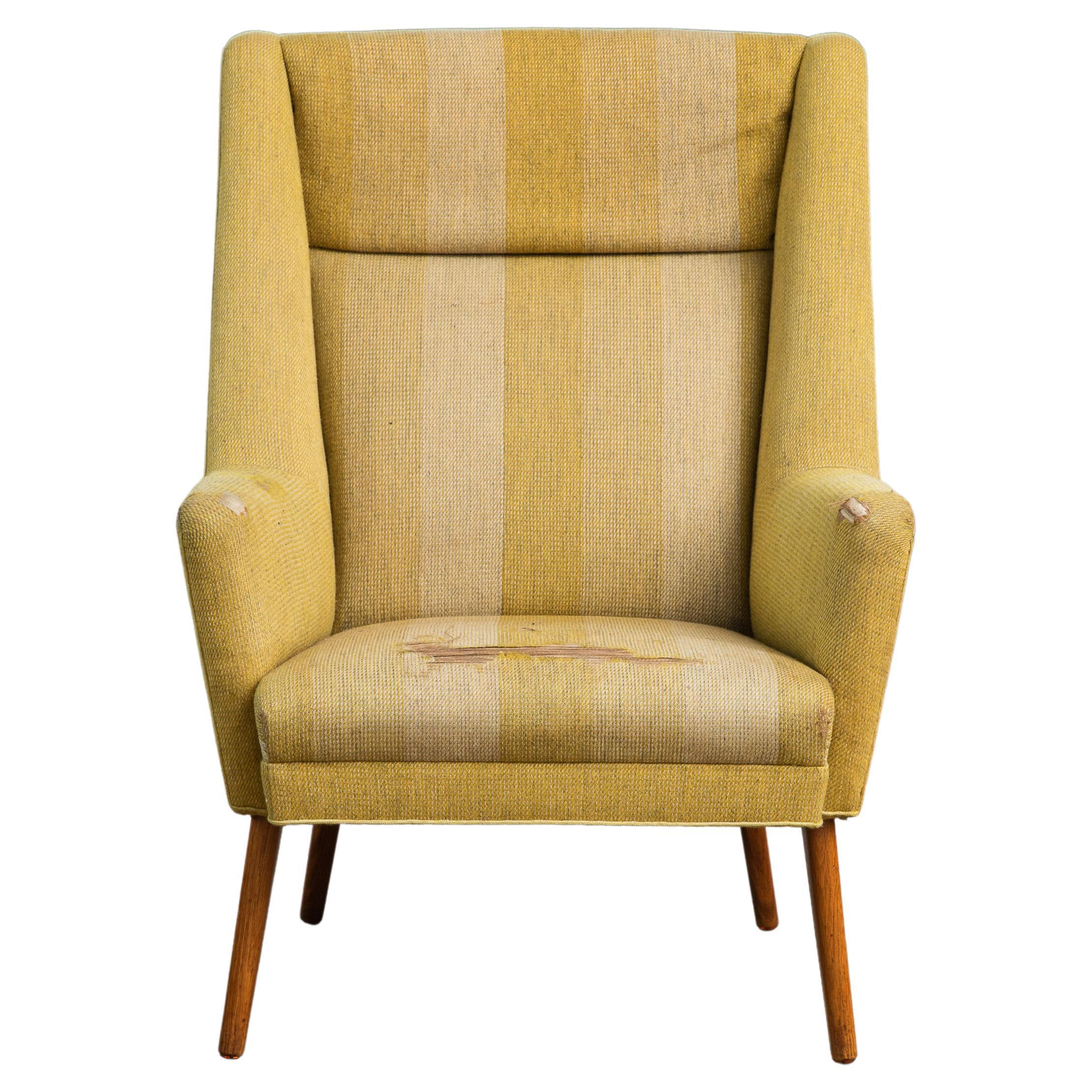 Danish Modern Late 1950's Lounge Chair