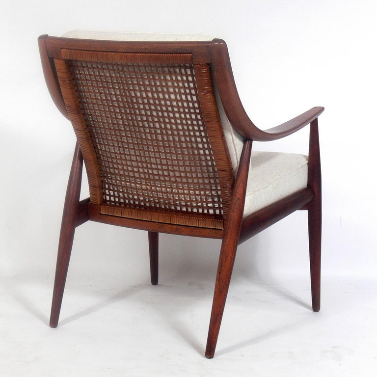 Danish Modern Lounge Chair by Peter Hvidt and Orla Mølgaard Nielsen In Good Condition For Sale In Atlanta, GA