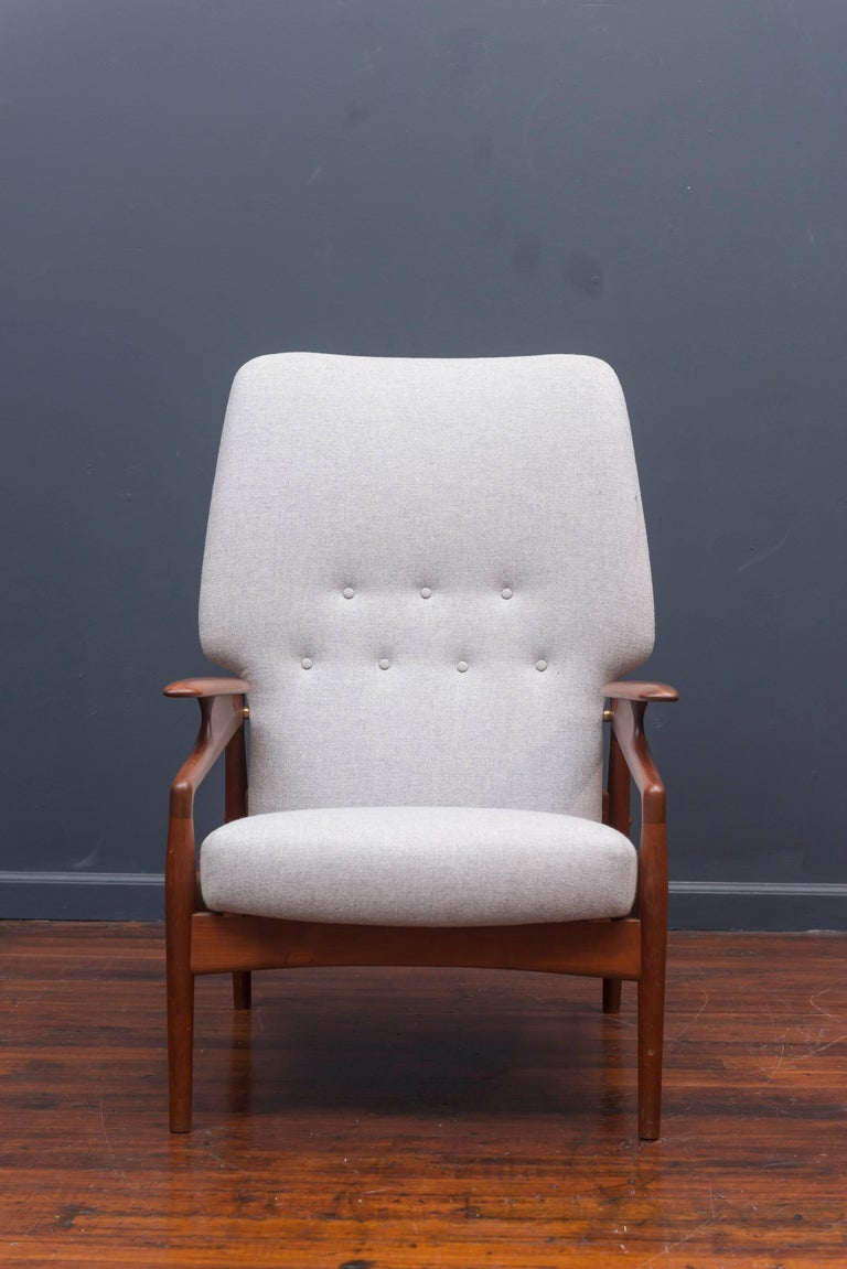 Danish Modern Lounge Chair In Excellent Condition For Sale In San Francisco, CA