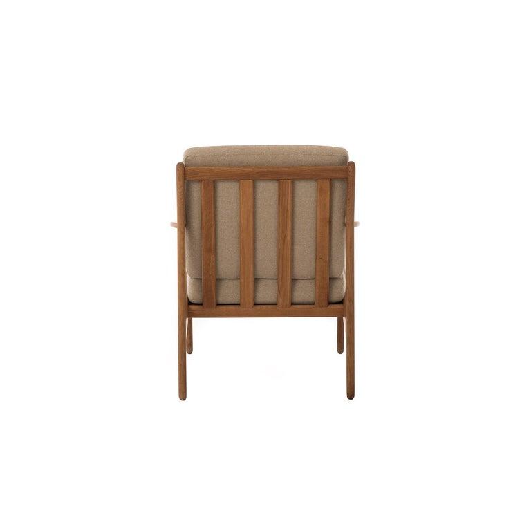 20th Century Danish Modern Lounge Chair For Sale