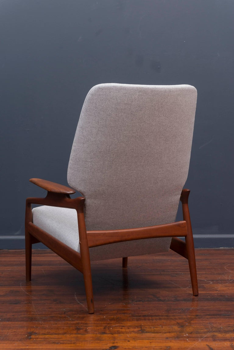 Danish Modern Lounge Chair For Sale 1