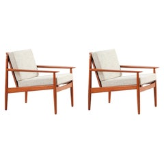 Danish Modern Lounge Chairs by Svend Åge Eriksen for Glostrup Møbelfabrik