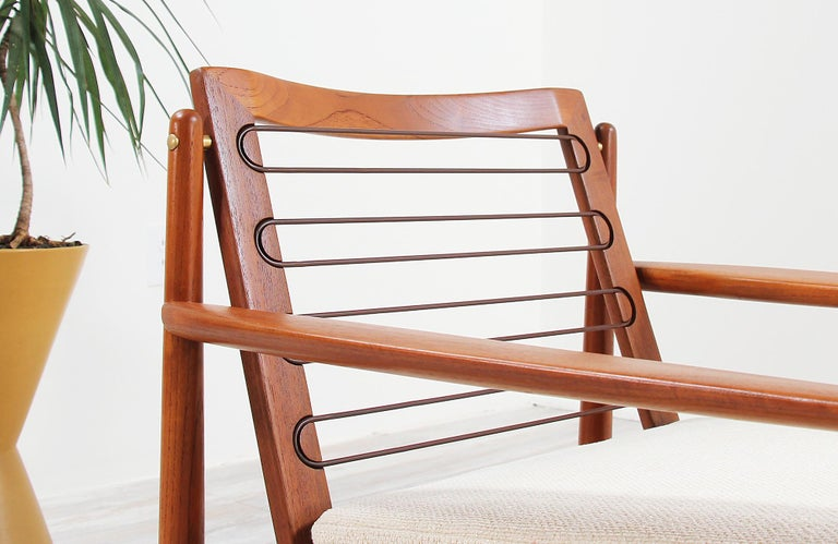 Danish Modern Lounge Chairs by Svend Åge Eriksen For Sale 5