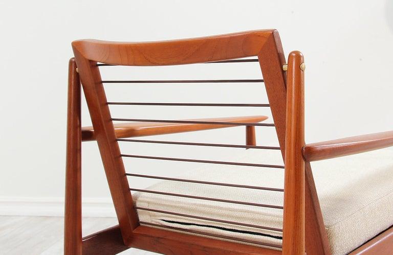 Danish Modern Lounge Chairs by Svend Åge Eriksen For Sale 6