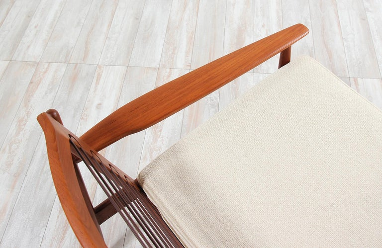 Danish Modern Lounge Chairs by Svend Åge Eriksen For Sale 2