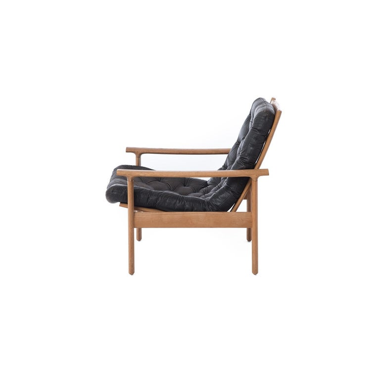 Danish Modern Lounge Chairs In Excellent Condition In Minneapolis, MN