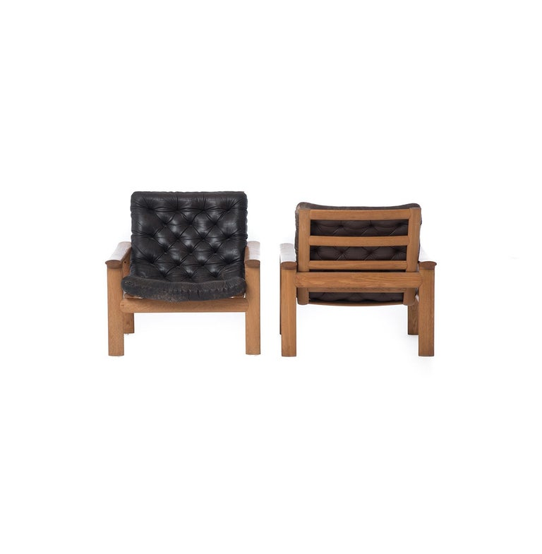 Danish Modern Lounge Chairs 1