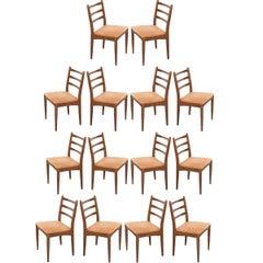 Danish Modern Maple Side Chairs