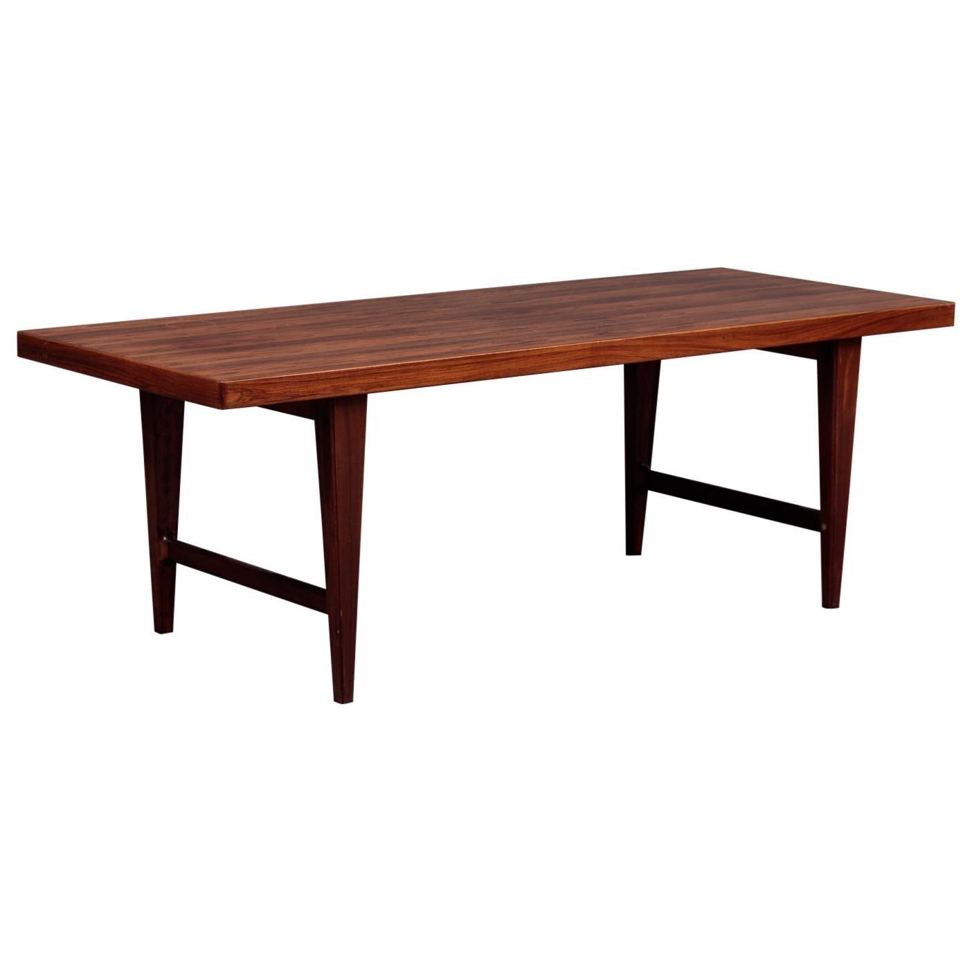 Danish Modern Mid-Century Rosewood Coffee Table