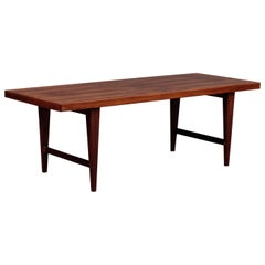 Danish Modern Mid-Century Rosewood Coffee Table