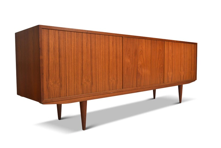 Danish Modern Midcentury Teak Credenza by Clausen and Son #2 For Sale 2