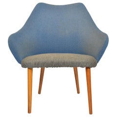 Danish Modern Midcentury Scoop Lounge Chair