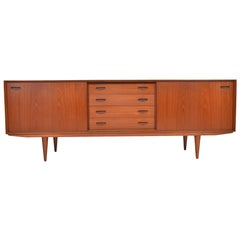 Danish Modern Midcentury Teak Credenza by Clausen and Son #2
