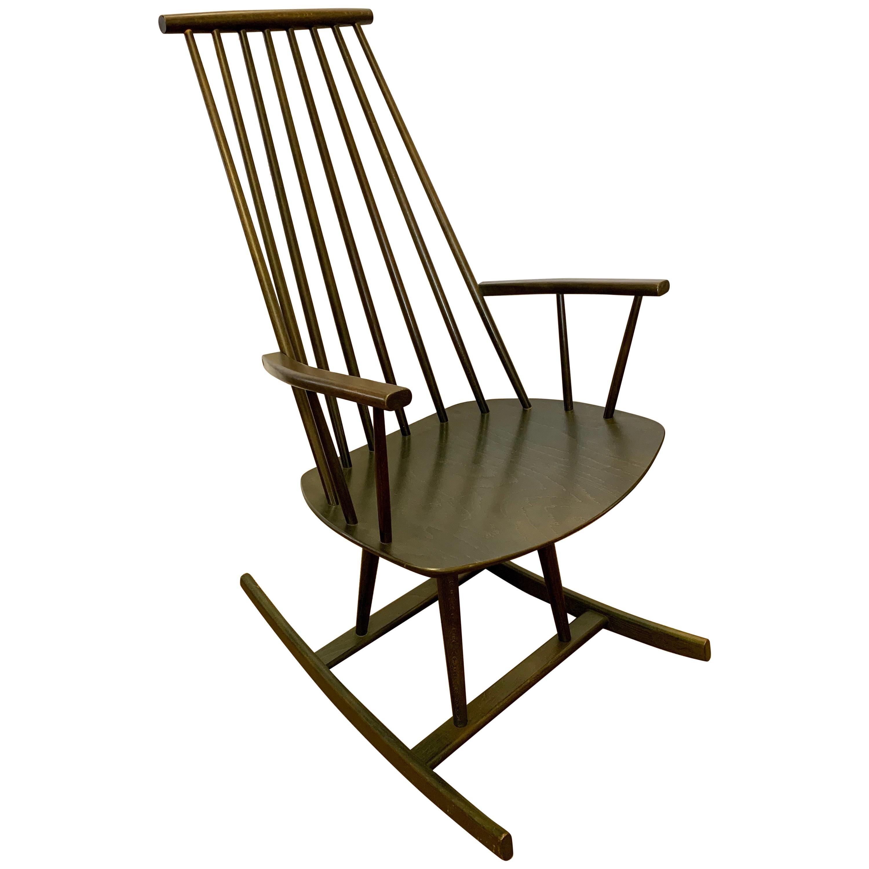 Danish Modern Möbler Rocker Rocking Chair