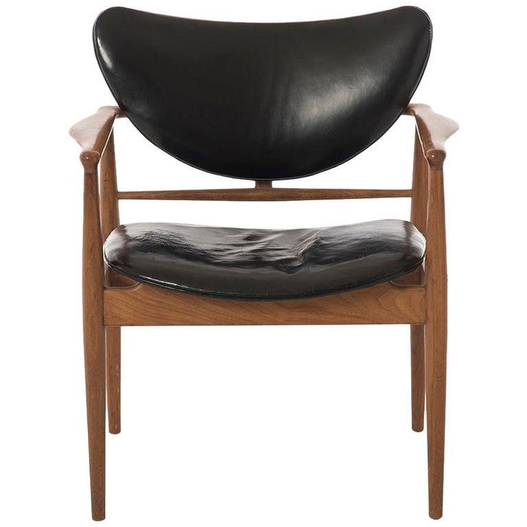 . Danish Modern Model 48 Occasional Chairs by Finn Juhl