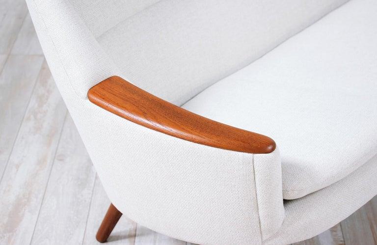 Danish Modern Model-58 Sofa by Kurt Ostervig for Rolschau Mobler For Sale 4