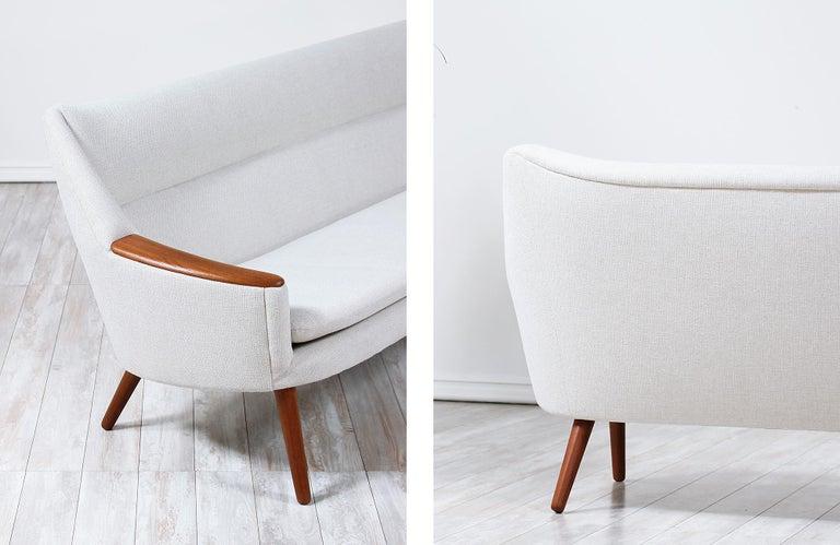 Danish Modern Model-58 Sofa by Kurt Ostervig for Rolschau Mobler For Sale 8