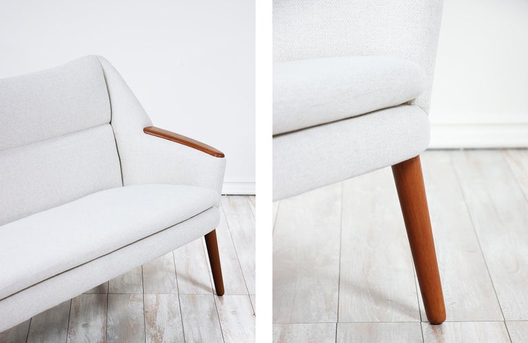 Danish Modern Model-58 Sofa by Kurt Ostervig for Rolschau Mobler For Sale 9