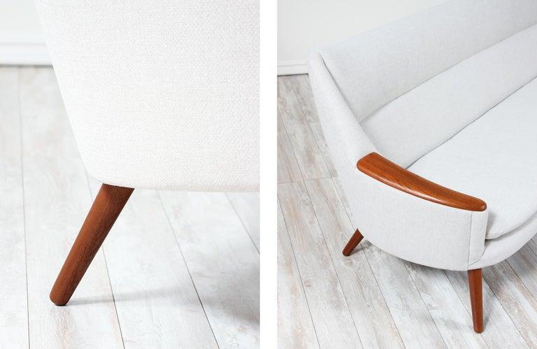 Danish Modern Model-58 Sofa by Kurt Ostervig for Rolschau Mobler For Sale 10
