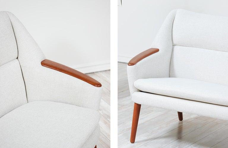 Danish Modern Model-58 Sofa by Kurt Ostervig for Rolschau Mobler For Sale 11