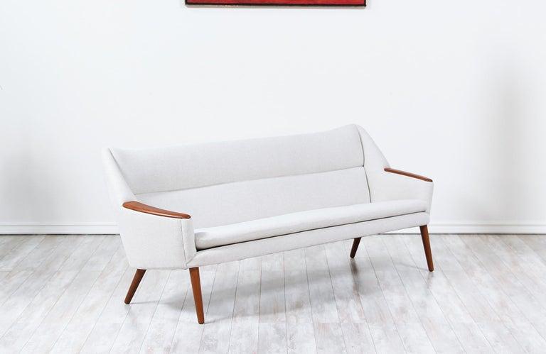 Mid-Century Modern Danish Modern Model-58 Sofa by Kurt Ostervig for Rolschau Mobler For Sale