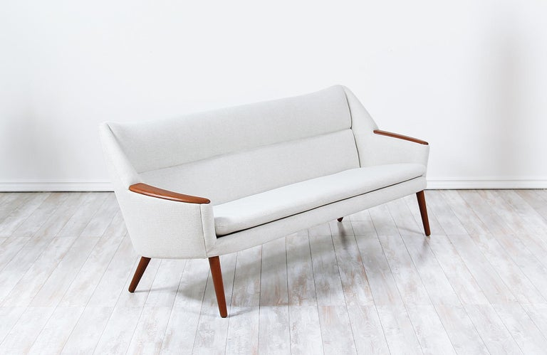 Danish Modern Model-58 Sofa by Kurt Ostervig for Rolschau Mobler In Excellent Condition For Sale In Los Angeles, CA