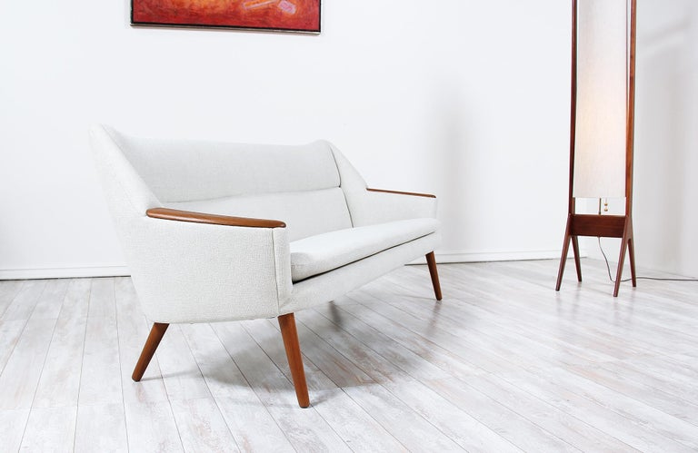 Mid-20th Century Danish Modern Model-58 Sofa by Kurt Ostervig for Rolschau Mobler For Sale